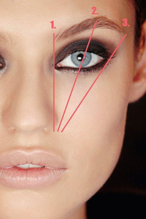 Augenbrauen formen - 3 Punkte worauf du achten sollst