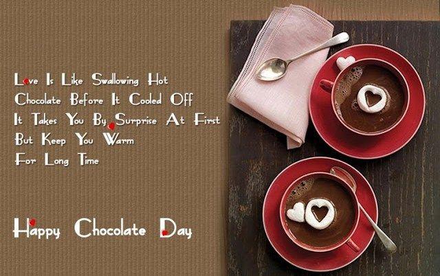 Happy Chocolate Day Quotes 2018 Chocolaty Quotation (Chexy)  Happy Valentines Day 2018