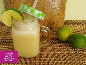 Hűsítő limonádé ízű vegán shake
