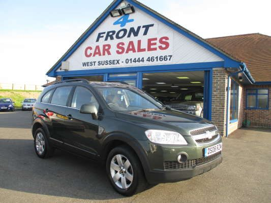 Used 2008 (08 reg) Green Chevrolet Captiva 2.0 VCDi LT 5dr Auto [7 Seats] for sale on RAC Cars