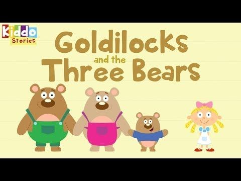 Fairy Tales as Short Bedtime Stories: The Story of Goldilocks and The 3 Bears - YouTube