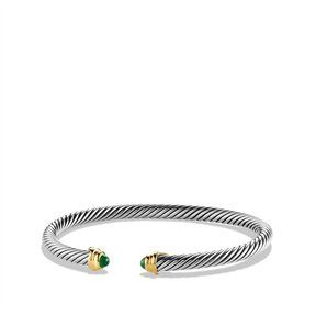 Cable Kids May Birthstone Small Bracelet with Emerald and Gold on shopstyle.com