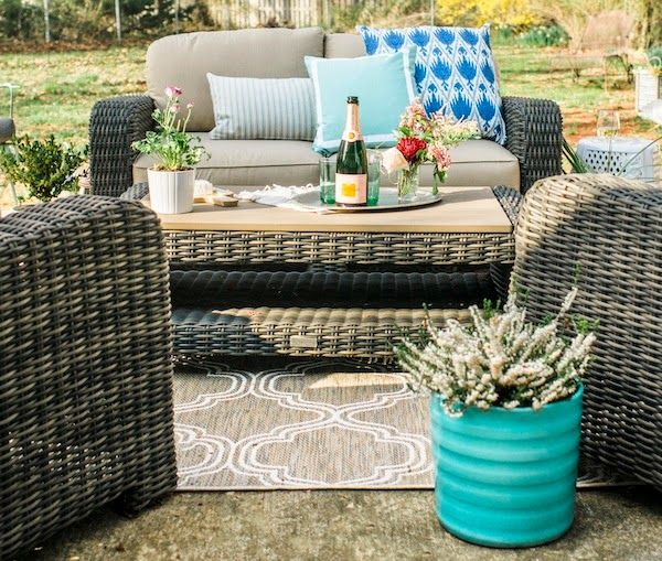 Our Home Depot Patio Makeover Part 1