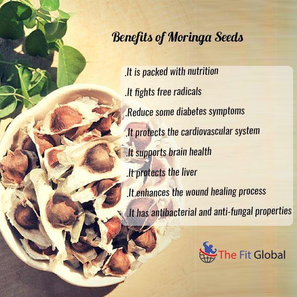 Benefits of Moringa Seeds #food #recipe #diabetes #health