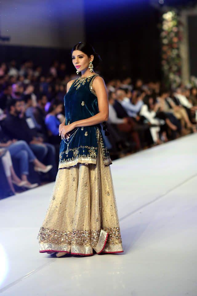 2015 PFDC Loreal Paris Bridal Week Misha Lakhani Dresses Collection Photos
