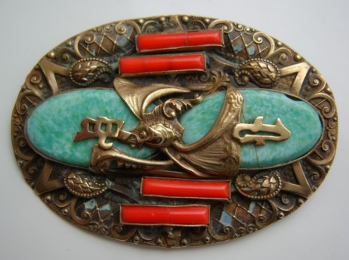 oval Neiger brooch: Brothers Jewelry, Neiger Brothers