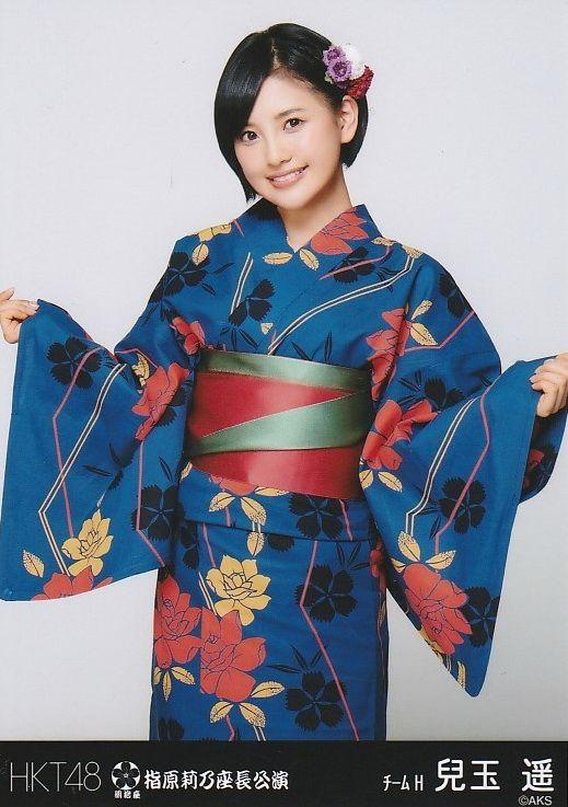 GO HAWKS TOWN!!!  Haruka Kodama of HKT48. See more photos on my blog:  https://dennysinnoh.wordpress.com/2015/05/11/kimonos-on-monday-haruka-kodama/