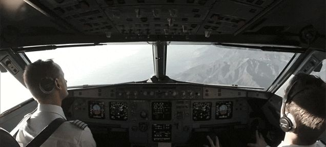 What It's Like to Fly Inside the Cockpit of an Airplane