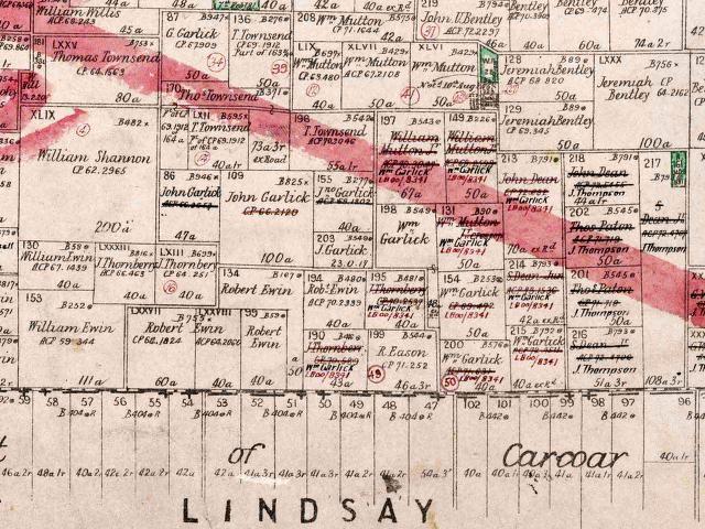 Parish Map for Graham Parish, Bathurst County, 1884 (Courtesy of Land and Property Information)