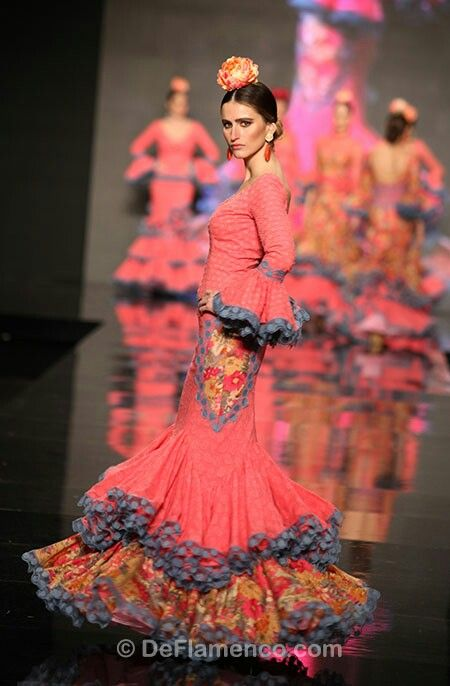 Sonia Isabelle  ... flamenco dress ... current fashion ....