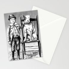 Boy and His Dog 02 Stationery Cards