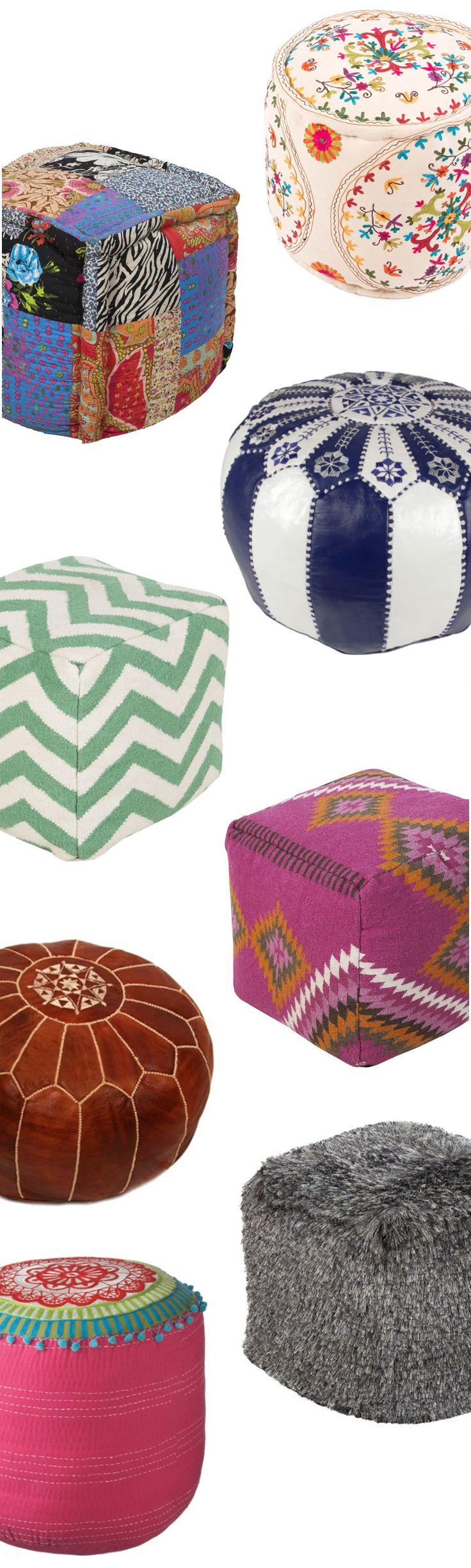 Cushions & Poufs | Up to 60% Off at dotandbo.com