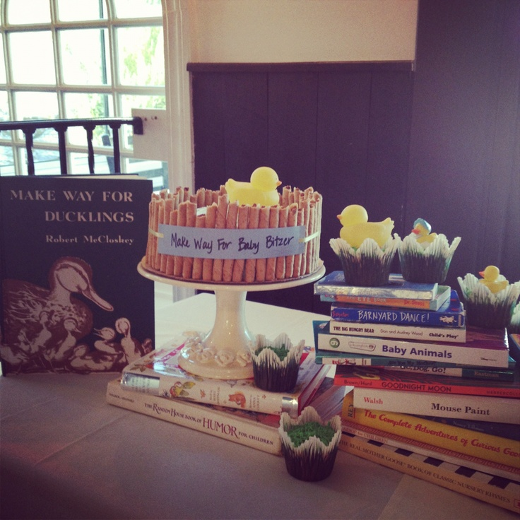 17 Best Images About Baby Shower Library Theme On
