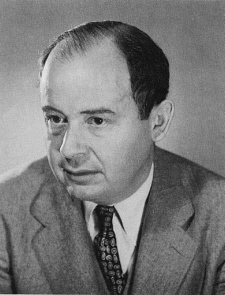 """John von Neumann wrote """"First Draft of a Report on the EDVAC"""" in which he outlined the architecture of a stored-program computer."""