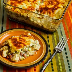 Layered Mexican Casserole with Chicken, Green Chiles ...
