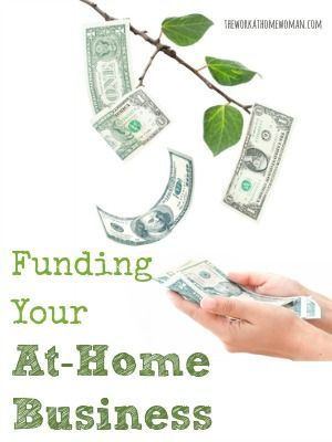 how to fund your work at home business