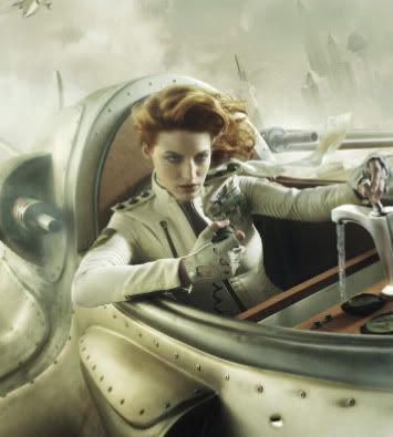 Literature > Fantasy > Dieselpunk : a genre that combines the aesthetics of diesel-based technology influenced by the interwar period to the 1950s with futurist postmodern technology