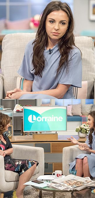 Lorraine Kelly asked Louisa Lytton a VERY awkward question on today's show...