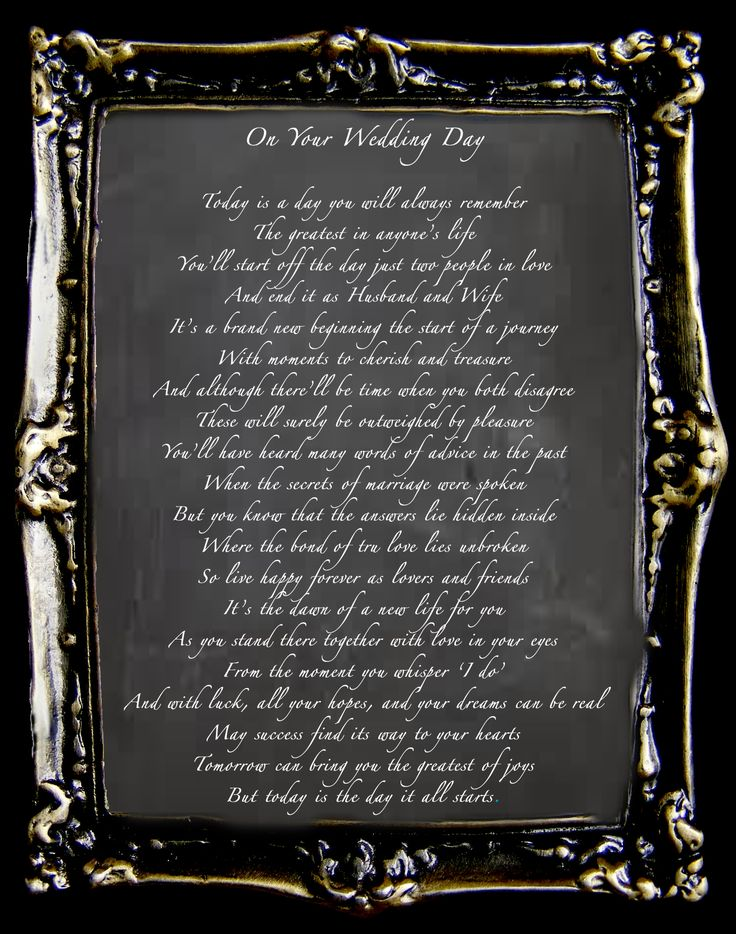 Wedding Ceremony Reading On Your