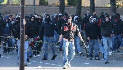 Ultras Milan scontri Curva Sud Milano