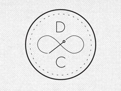 secondary logo mark | disregard the needle in this. I like the idea of using a line design that emulates thread