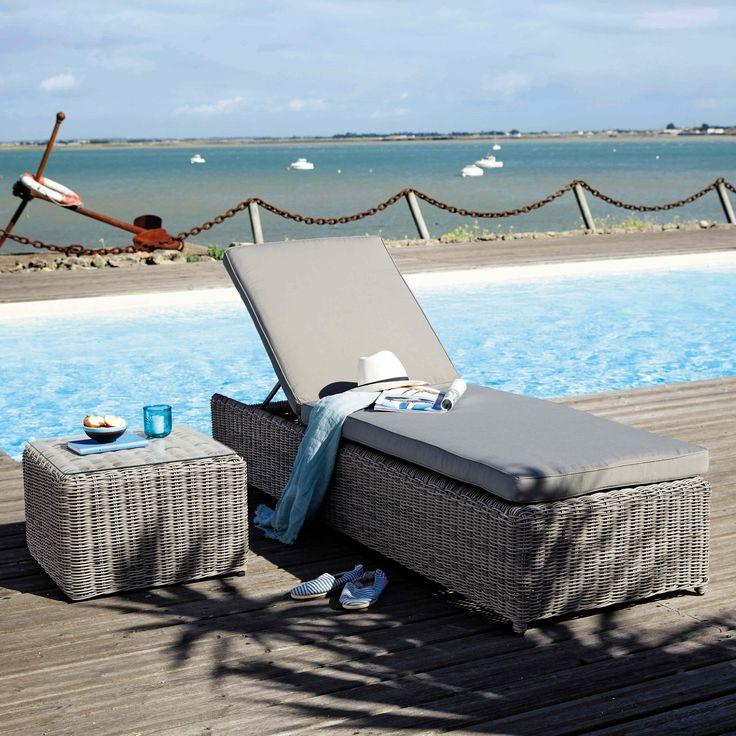 Les 25 meilleures id es concernant piscine resine sur for Bain de soleil maison du monde