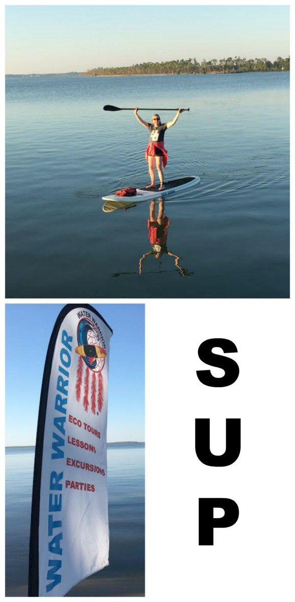 SUP: I am a water warrior!