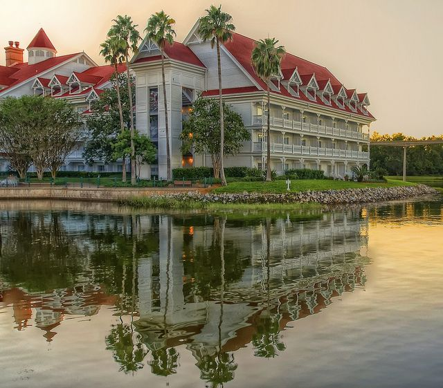 Disney Resorts -- The Grand Floridian