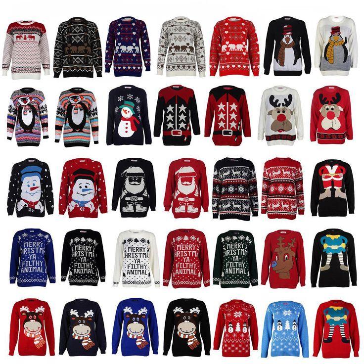 BARGAIN Ladies Christmas Jumpers JUST £4.99 At eBay - Gratisfaction UK Bargains #bargains #ladies #christmas