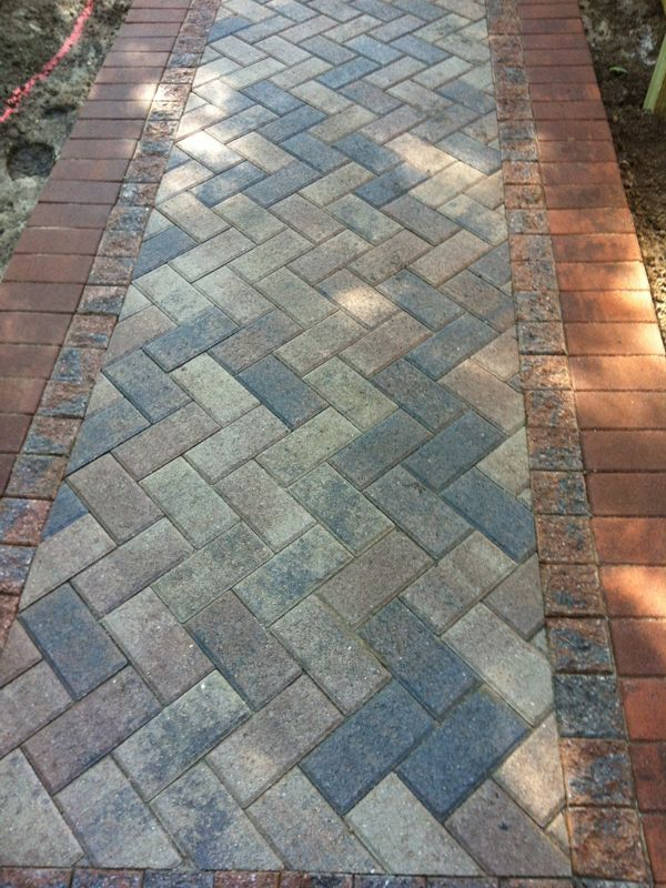 Paver Walkway Design Ideas stepping stones walkways idea stone walkway pictures natural square cut and brick walkways 25 Best Ideas About Paver Walkway On Pinterest Backyard Pavers Front Sidewalk Ideas And Walkway