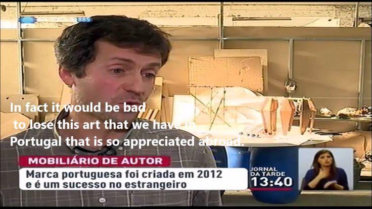 INSIDHERLAND highlighted by TV channel RTP1 03/12/2014 #INSIDHERLAND #portuguesedesign #luxury #luxuryfurniture #designfurniture