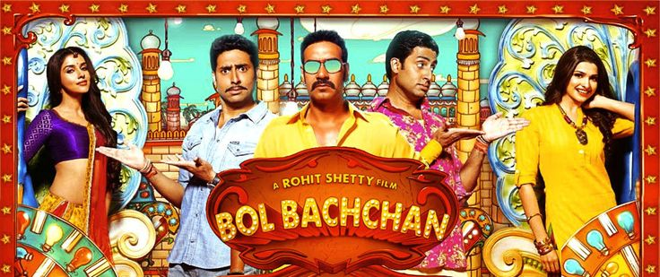 Free Hindi Movie: Bol Bachchan — Spuul