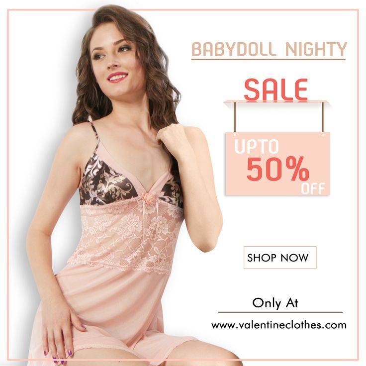 Experience the ultimate Romance and Luxury with this curve hugging Babydoll Nighty Collection. Shop now only at  www.valentineclothes.com/Women/BabyDoll  #babydoll #nighty #glamourcollection #fashion #fashionista #womensfashion #valentine #valentineclothes #madewithlove #enjoyshopping