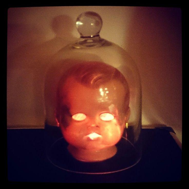 Homemade lamp by Katrine Svinth