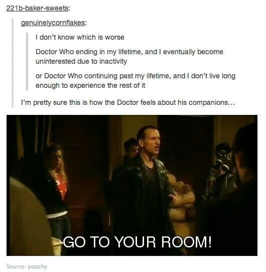 Doctor Who Go To Your Room