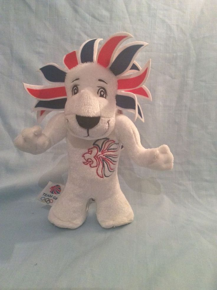 Pride The Lion London Olympics 2012 Team GB Official Mascot Collectable