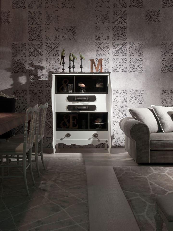 """Cassettiera contenitore a giorno """" serie Concept"""" . = Collezione: LANGOLO Home Living"""