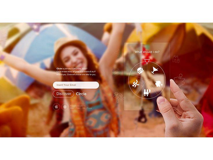 Circle iPhone appGoogle+ Dribbble Behance Twitter http://ramotion.com