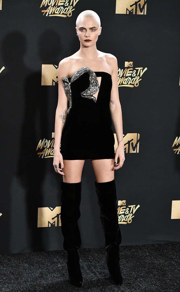 Las estrellas del cine, la música, y la tv llegaron al Shrine Auditorium  de Los Ángeles el domingo para los premios MTV Movie & TV 2017...