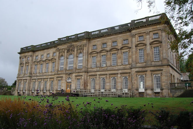 Wentworth Castle baroque front, Barnsley, South Yorksahire