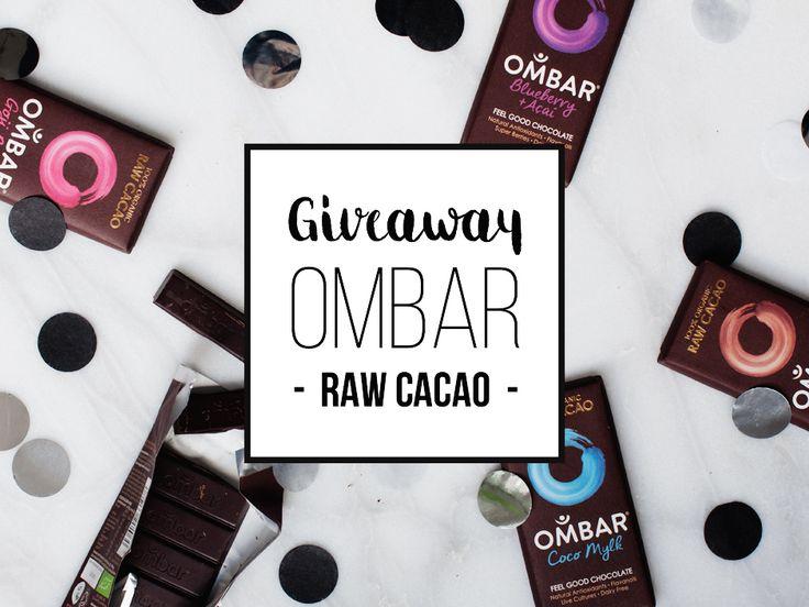 Ombar de Feel Good Chocolade + Giveaway Chocolade, Repen