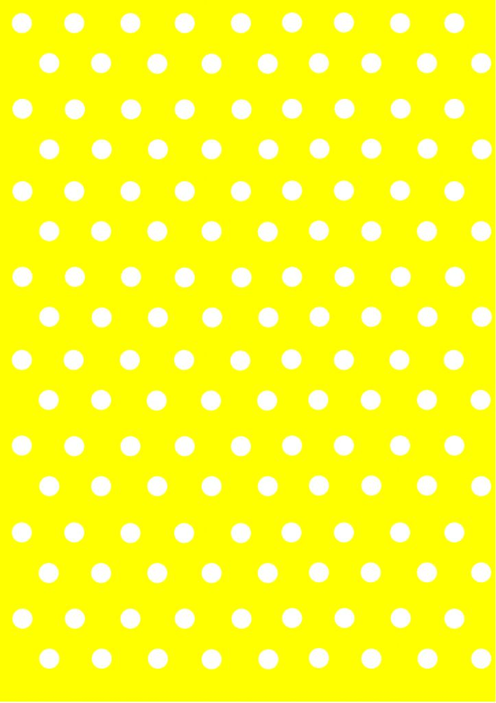 polka dot papers yellow