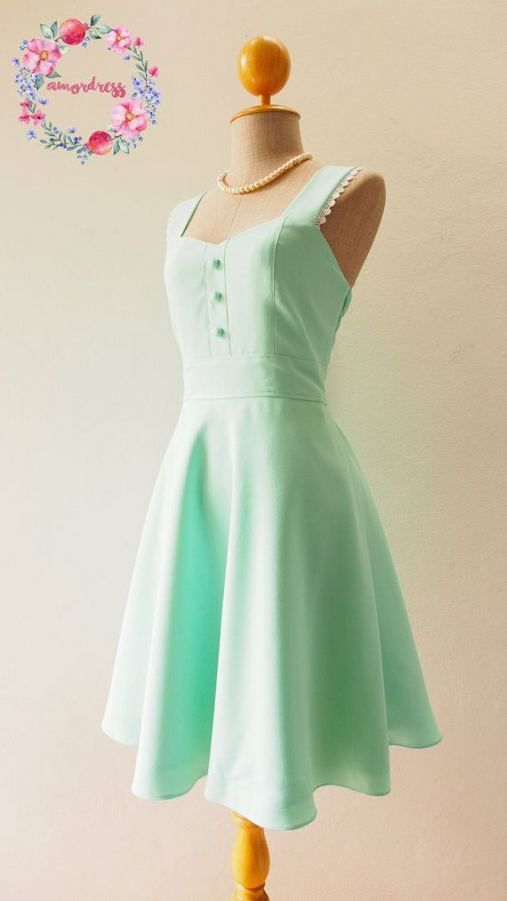 18 affordable mint green bridesmaid dresses ideas fashionable