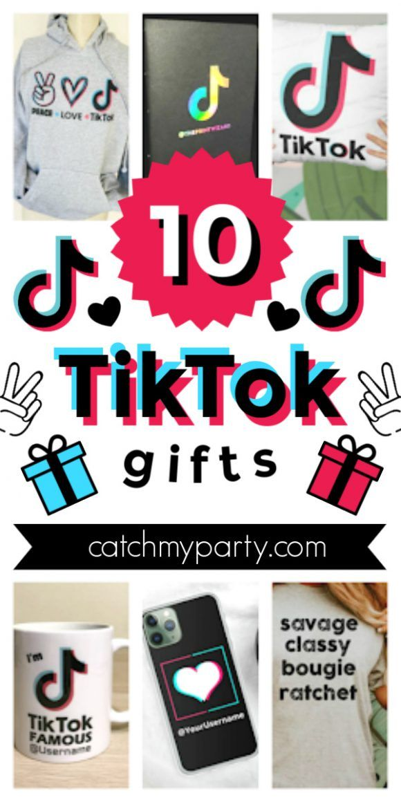 Kids Love Tiktok They Seriously Can T Seem To Get Enough Of It To Help You Plan A Hyped Tiktok Bir Catch My Party Birthday Gifts For Boys Girl Birthday Party