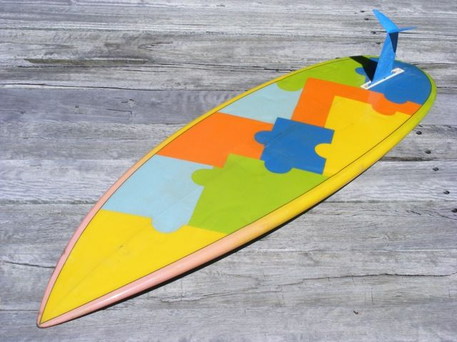 Thick single fin surfboards | McCoy Single Fin
