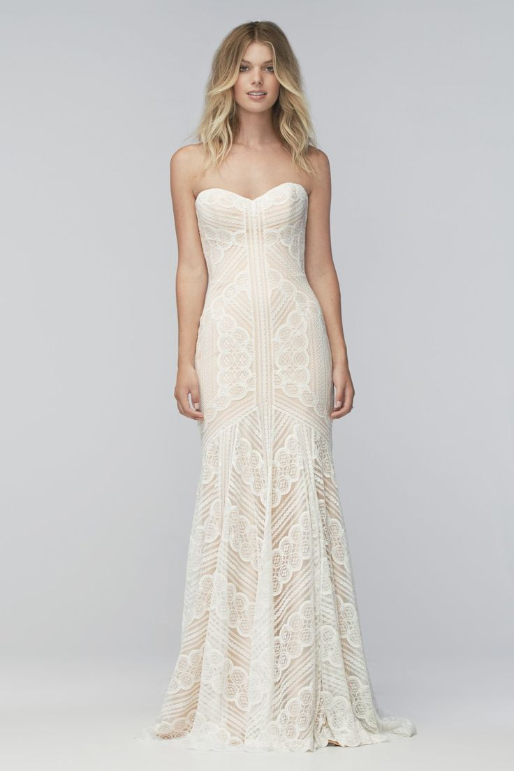 Designer: Wtoo Style: Betty Available at Bliss Bridal in Wisconsin www.blissbridalonline.com