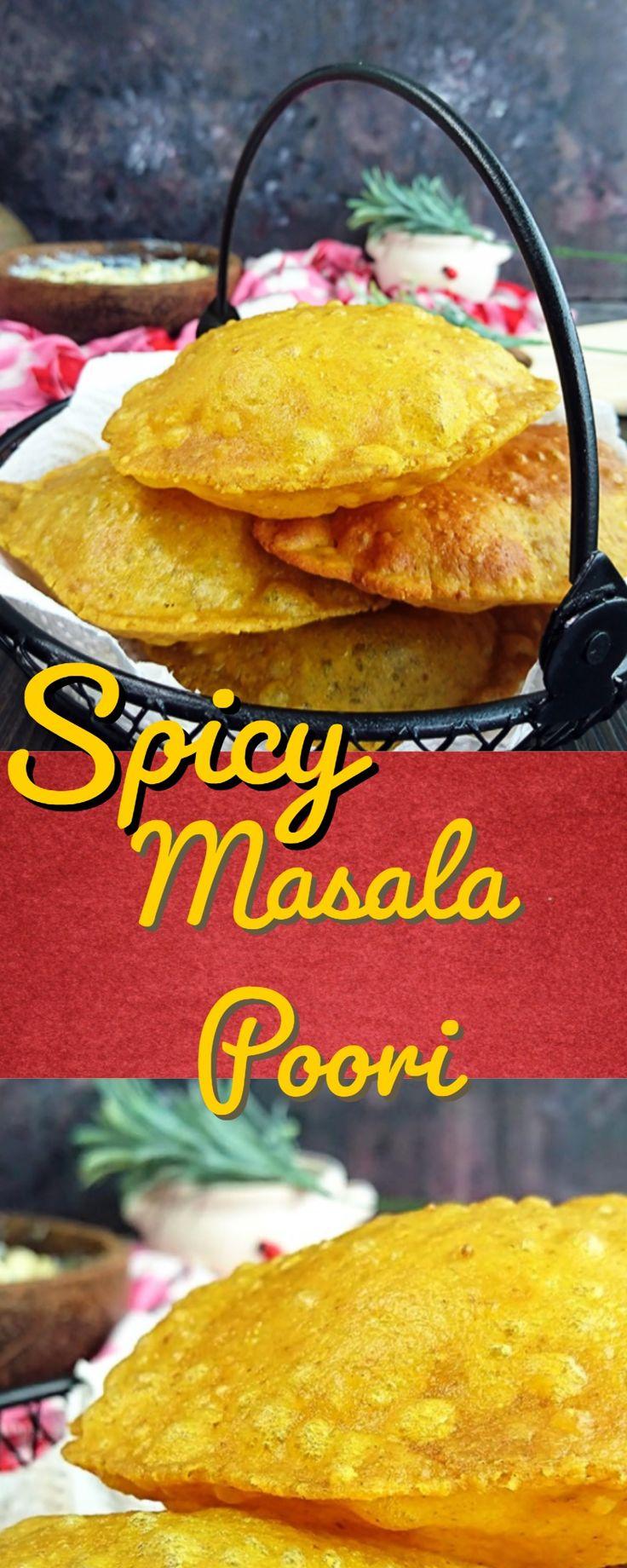 Masala Puri | Spicy Masala Poori | gujarati masala puri recipe