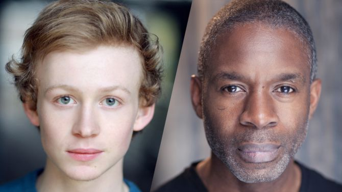 New Casting -JOHN BELL as Young Ian and Will Johnson as Joe Abernathy