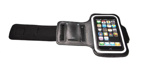 Wholesale 24 Pieces - iPhone 5 and 5S Armband Holding Case£¬Black Material: Leather. Type: Pouches/Sleeves. Compatible: iPhone 5 5S. Colors Available: White. Sleek, low profile design doesn't get in your way and makes it great for exercising..  #AMC #Wireless