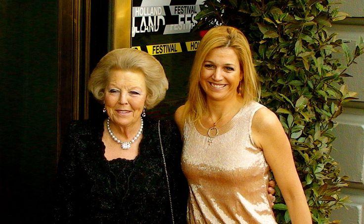 koningin Beatrix & Prinses Maxima bij het Holland Festival 13 juni 2010